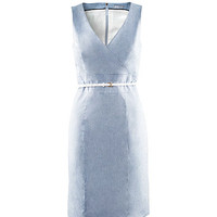 H&M Shop Online - Figure-fit dress with a wraparound top