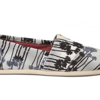 Grey Palm Trees Vegan Women's Classics