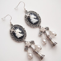 glamasaurus ♥Kawaii Cute Sweet Jewelry + Accessories ♥ — Unicorn King Dangle Earrings