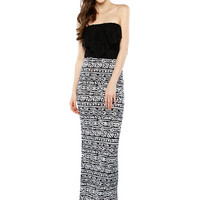 Papaya Clothing Online :: RUFFLE MESH MAXI DRESS