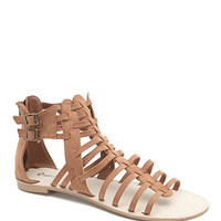 Qupid Athena Strap Gladiator Sandals at PacSun.com