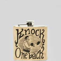 Knock One Back Flask