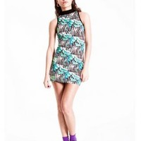 Miami Zoo Halter Dress