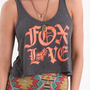$12.99 Fox Standard Cropped Tank - PacSun.com