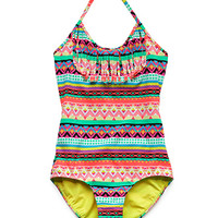 Globetrotter Fringed One-Piece (Kids)