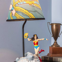 Comic and Collected Lamp