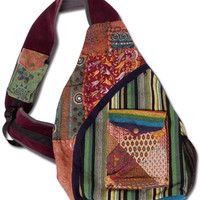 Patchwork Backpack: Soul Flower Clothing