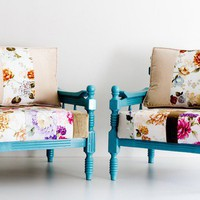 spring armchairs by namedesignstudio on Etsy
