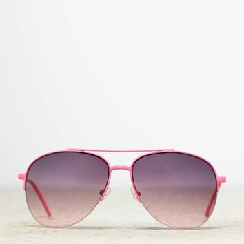 AEO Pink Aviator Sunglasses