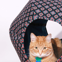 Now On Sale Jumbo Cat Ball modern cat bed by JennasRedRhino