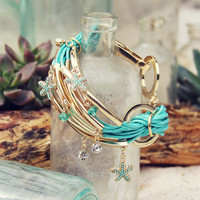 Desert Tide Bracelet in Mint