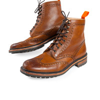 Superdry Premium Brogue Boots