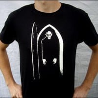 Glow-in-the-Dark Nosferatu T-shirt - $21.00 : Zen Cart!, The Art of E-commerce