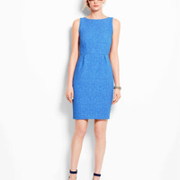 Textured Jacquard Sheath Dress