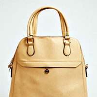Hannah Zip Front Structured Backpack