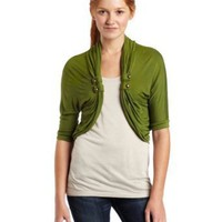 A. Byer Juniors Cardigan with Tab
