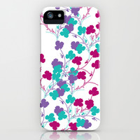 Delicate branches iPhone & iPod Case by nandita singh