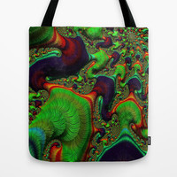 Earth Tone  Abstract Tote Bag by OCDesigns_PwinArt