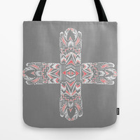 Pocatiki Tribe Tote Bag by Tiki