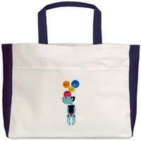 Wait will empty your dreams Beach Tote> moodsface
