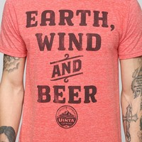 Earth Wind Beer Tee - Urban Outfitters