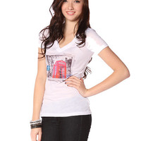 Papaya Clothing Online :: TELEPHONE V NECK TOP