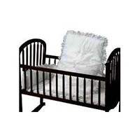 Baby Doll Bedding Carnation Eyelet Cradle Set