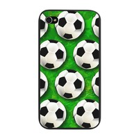 Soccer Ball Football Pattern iPhone Snap Case