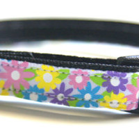Spring Flowers Cat Collar