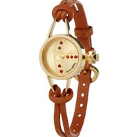 Gold/Brown Chancery Watch | Vivienne Westwood