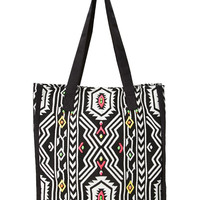 Explorer Tribal Patterned Tote