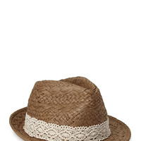 Beachy Straw Fedora