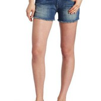 Lucky Brand Women&#x27;s Riley Denim Cut-Off Short