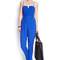 Textured Cutout Jumpsuit
