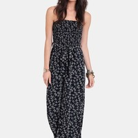 Jasmine Floral Printed Jumpsuit | Threadsence