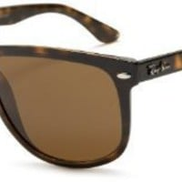 Ray-Ban RB4147P Flatop Boyfriend Polarized Sunglasses