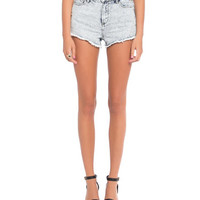 Pocket Studded Denim Shorts