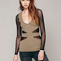Seamless Cut Out Top