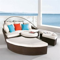 EHO Studios U: S8013 Patio Lounge Furniture Set  - Outdoor Living Showroom