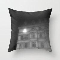 night window Throw Pillow by Marianna Tankelevich