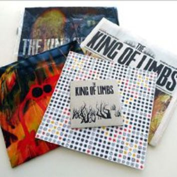 "The King Of Limbs- Newspaper Edition (10"" clear vinyl w/ CD and extras) [Special Limited Edition, Double LP]"