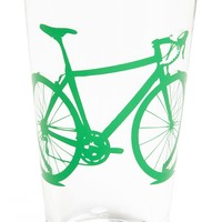 'Bike' Pint Glass