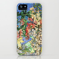 Blossoming Chestnut Branches by Vincent van Gogh.   iPhone & iPod Case by NatureMatters