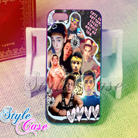 Taylor Caniff Collage -  for case iPhone 4/4s/5/5c/5s-Samsung Galaxy S2 i9100/S3/S4/Note 3-iPod 2/4/5-Htc one-Htc One X-BB Z10