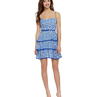 B. Darlin Ditsy-Print Tiered Dress | Dillards.com