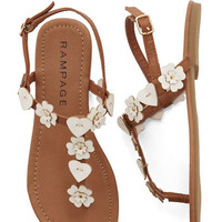 ModCloth Boho Heartsome and Happy Sandal