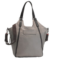 Storksak UK Edition Ellena Diaper Bag - Twisted Taupe Leather