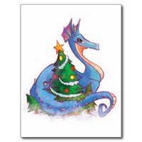 Dragon Round the Christmas Tree
