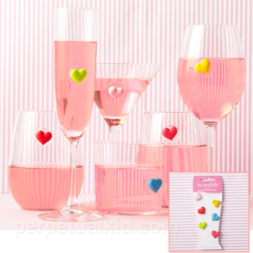 HEART DRINK MARKERS