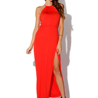 Papaya Clothing Online :: SEXY YOKE MAXI DRESS